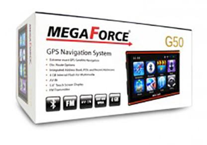 جی پی اس مسیریاب رهیاب مگافورس g50